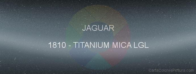 Pintura Jaguar 1810 Titanium Mica Lgl