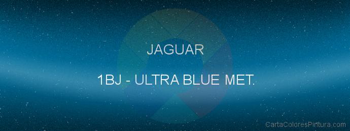 Pintura Jaguar 1BJ Ultra Blue Met.