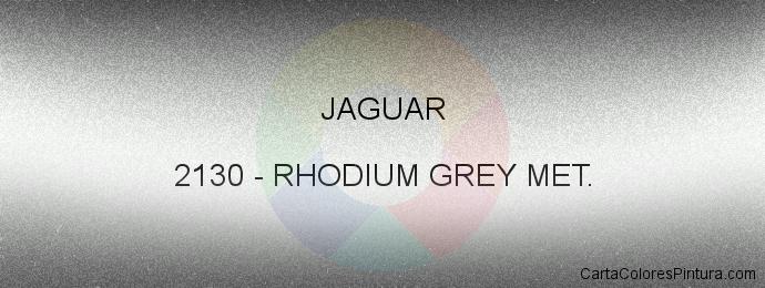 Pintura Jaguar 2130 Rhodium Met