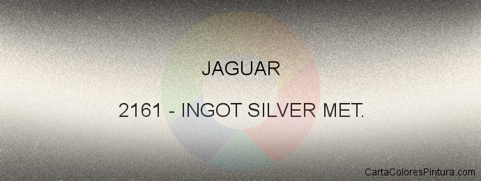 Pintura Jaguar 2161 Ingot Silver Met.