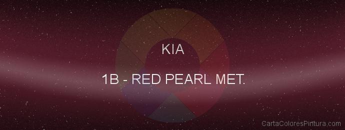 Pintura Kia 1B Red Pearl Met.