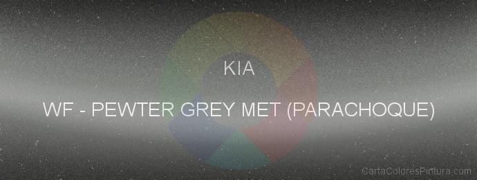 Pintura Kia WF Pewter Grey Met (parachoque)