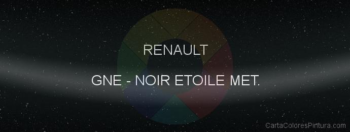 Pintura Renault GNE Noir Etoile Met.