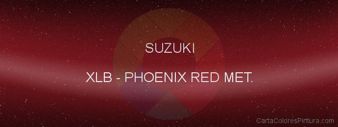 Pintura Suzuki XLB Phoenix Red Met.