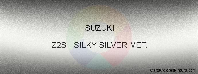 Pintura Suzuki Z2S Silky Silver Met.