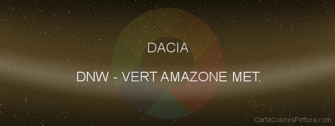 Pintura Dacia DNW Vert Amazone Met.