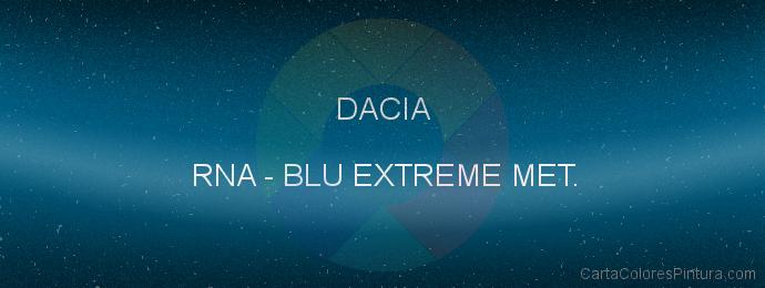 Pintura Dacia RNA Blu Extreme Met.