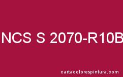 Couleur NCS S 2070-R10B